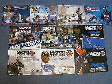 11 DIFFERENT NHRA HANDOUTS/ ANTRON BROWN/ 08'- 16'
