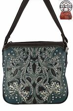 Montana West Concealed Carry Crossbody Purse Western Gun Concealment Turquoise