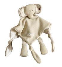 Baby Schmusetuch Schnuffel Kuschel Tuch Elefant Bio Baumwolle Natures Purest neu
