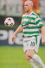 Football Photo JOHN HARTSON Celtic 2004-05