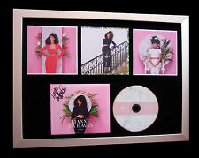 LIANNE LA HAVAS+SIGNED+FRAMED+BLOOD+WHAT YOU DO=100% AUTHENTIC+FAST GLOBAL SHIP
