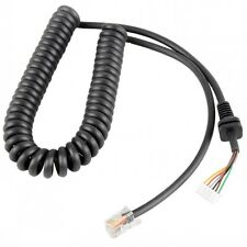 Mic Cable Cord for Yaesu Microphone MH-48A6J FT-7800R FT-8800R FT7900R FT-8900R