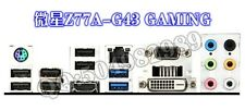 MSI I/O IO SHIELD  Z77A-G43 GAMING    #G1775 XH