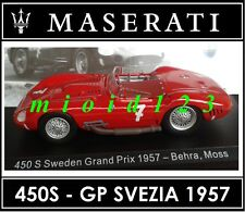 1/43 - Maserati 100 Years Collection : 450S #7 GP Sweden [1957] - Die-cast