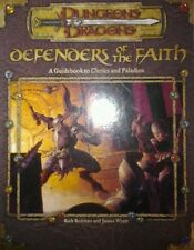 Defenders of the Faith (softcover, Dungeons & Dragons rpg, d20 system v3.0 WotC)