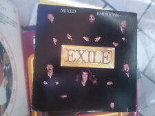LP EXILE MIXED EMOTIONS  USA PRESS COVER CUT OUT VINILE VG/VG+