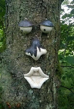 GARDEN TREE FACE NOVELTY GARDEN ORNAMENT DECORATION FUNNY WALL FENCE SHED FACE