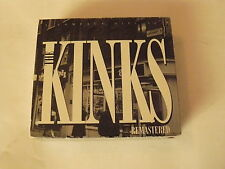 "THE KINKS ""REMASTERED"" BOX 3XCD CASTLE 1995 TOP"