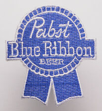 PABST BLUE RIBBON BEER Embroidered Iron-On Patch- MIX 'N' MATCH - #1K06