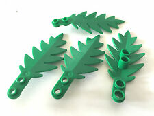 *NEW* 4 Pieces Lego Plant SMALL PALM LEAF 8x3 6148