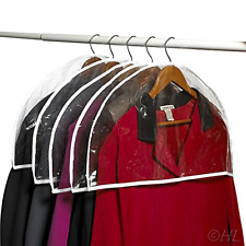 16 Shoulder Plastic Closet Garment Hanger Protector Covers Hangers Clothes .