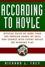 According to Hoyle: Official Rules of More Than 200 Popular Games of Skill and C