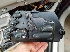 MERCEDES BENZ W220  S-Class OEM Front DRIVER LEFT  Seat w/Heat Control Switch
