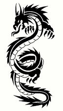 Dragon E funny car van, bumper, windows, Wall art decal stickers