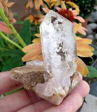 LARGE UTAH QUARTZ CRYSTAL SCEPTOR ON MATRIX MINERAL 391.3cts