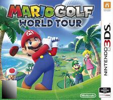Mario Golf: World Tour (Nintendo 3DS, 2014)