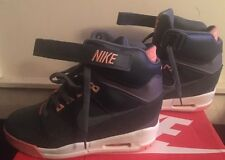 Nike Air Revolution Size 11 Light Wear Navy And Coral No Box Wedge Sneakers