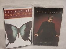 "2 Cassette Lot of ""Bob Carlisle"" : Stories from the Heart & Butterfly Kisses"