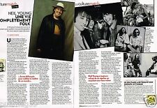 Coupure de Presse Clipping 2012 (2 pages) Neil Young