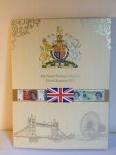 British notes and coins album, Pound banknotes, Paper money collection, gift