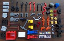 NEW LEGO Minifigure Accessory Lot for CITY / TOWN Tools Cabinet Misc Accessories