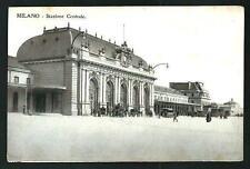 Milano : Stazione Centrale -  cartolina non vgt. , indiicativamente primi '900