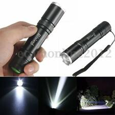 Elfeland Mini 5000LM 12W LED Luz Linterna Lámpara Zoomable Antorcha Flashlight