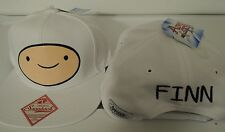 Adventure Time Finn and Jake Big Face Finn Cartoon Snap Back Hat Nwt