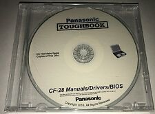 Panasonic Toughbook CF-28 Manuals / Drivers / BIOS #1 Rated Repair Tool!!