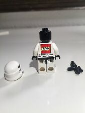 LEGO Star Wars Stormtrooper Minifigure LFL LEGO Group 2O02 Rare Print On Back...