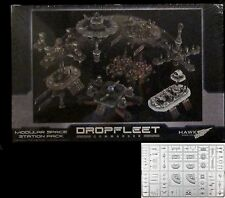 Dropfleet Commander HDF99003 Modular Space Station Set Terrain Kit Starbase Dock