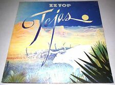 LP ZZ TOP - TEJAS  / TRI - FOLD COVER (NOVA RECORDS) 1976 TOP!