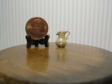"Miniature Dollhouse Small Amber Pitcher 1:24 1/2"" Scale"