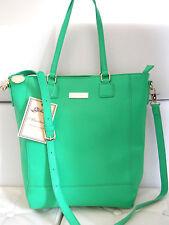 Almatrichi borsa donna shopping bag Tibet pelle pu verde manici+tracolla €89,00