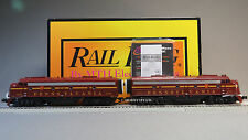 MTH PRR E-8 AA DIESEL ENGINE SET 5809 5771 PROTO 3.O o gauge train 30-20346-1