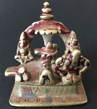 Indien Antique Indian Hindu Bronze Asia Buddha China Nepal Krishna Shiva Ganesha