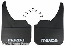Universal Car Mudflaps Front Rear Mazda MX-3 MX-5 MX-6 Branded Mud Flap Guard