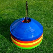 50 x FORZA Marker Cones & Carry Stand - Great For A Vast Range Of Sports