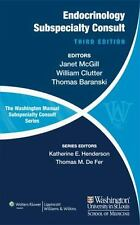 The Washington Manual Of Endocrinology Subspecialty Consult 3rd Int'l Edition