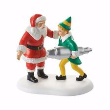 New Department 56 ELF Movie Village Buddy Salvages Kringle 3000 Figure 4053410