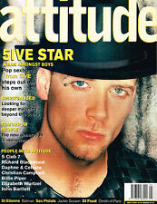ATTITUDE #73 05/2000 JASON PAUL ''J'' BROWN / 5IVE Billie Piper SARAH CRACKNELL