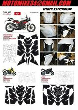 PROTECTION RESERVOIR TRANSPARENT SUZUKI GSXR  KIT PAD