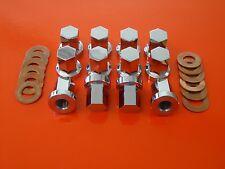 Kawasaki Z900 Z1000  Stainless Steel Cylinder Head Nuts & Washers Z1 Z1a Z1b Kz