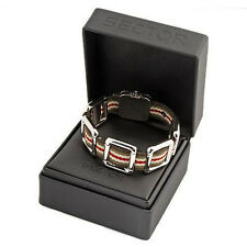 Sector Jewels Collection. Adventure Gents Surgical Steel Bracelet RRP£150 BNIB#S