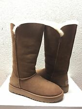 UGG CLASSIC CUFF TALL CHESTNUT SHEEPSKIN LINED BOOT US 8 / EU 39 / UK 6.5  NEW