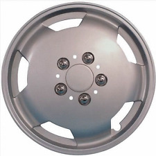 "4 x Ford Transit Van 15"" Wheel Trims Silver Deep Dish Hub Caps Single Rear Wheel"