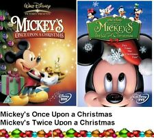 MICKEYS ONCE / TWICE UPON A CHRISTMAS DVD Walt Disney Mickey's Mouse Mickey New
