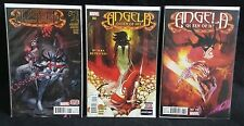 ANGELA: QUEEN OF HEL #1, 2 and 3 VARIANT 1:25 Bill Sienkiewicz - RARE - NM