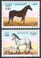Algeria 1984 Horses/Nature/Animals/Transport 2v set (n32103)