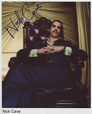 Nick Cave SIGNED Photo 1st Generation PRINT Ltd, No'd + Certificate (6)